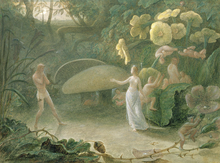 the tale of lovers quarreling in william shakespeares a midsummer nights dream