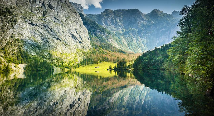 Obersee Photograph - Obersee in Bavaria by Bjoern Kindler
