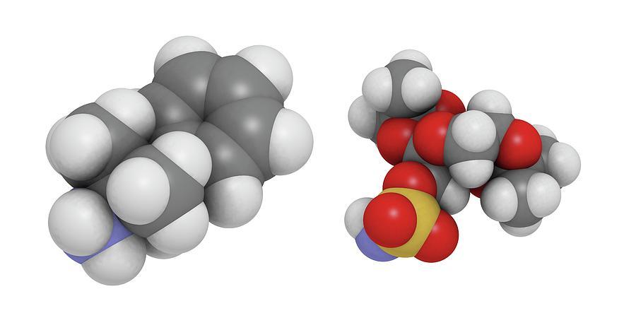 Artwork Photograph - Obesity Drug Molecule by Molekuul/science Photo Library