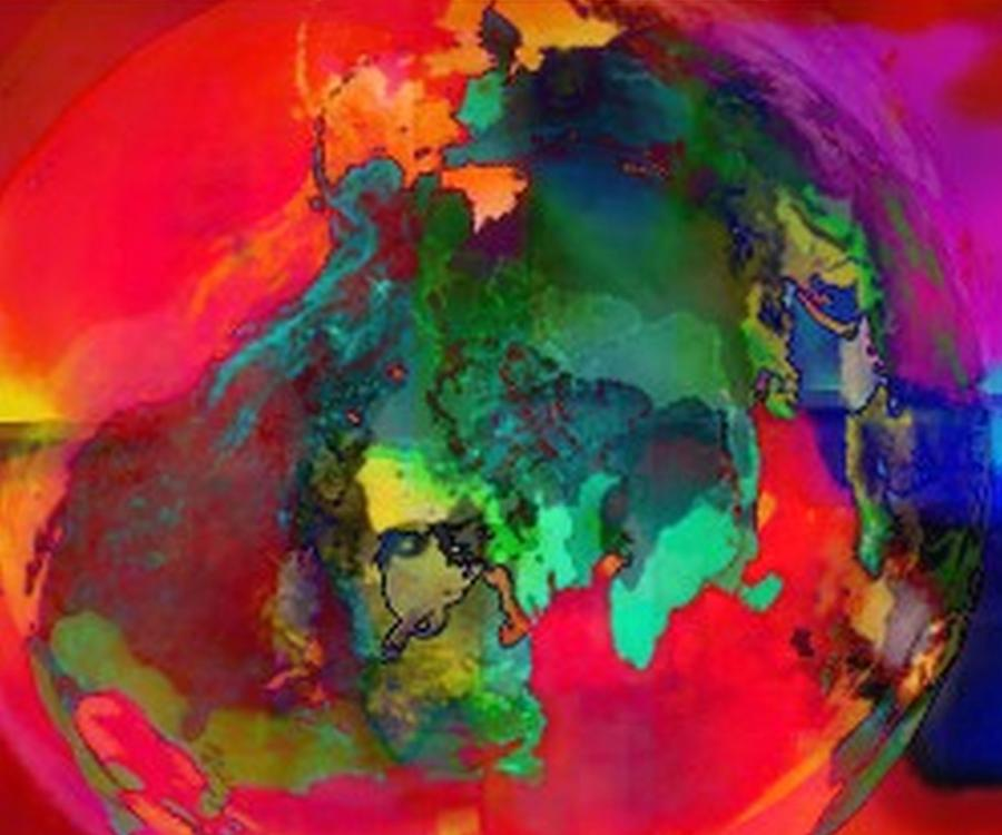 Expressionism Digital Art - Obscurity by Kelly McManus