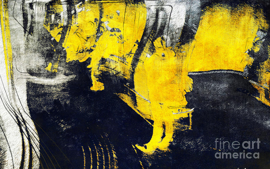 Observation in yellow by Nicole Philippi
