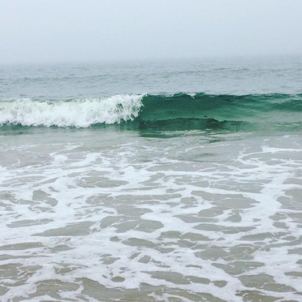Amazing Photograph - #ocean #beach #waves #amazing #fog by Tetyana Gobenko
