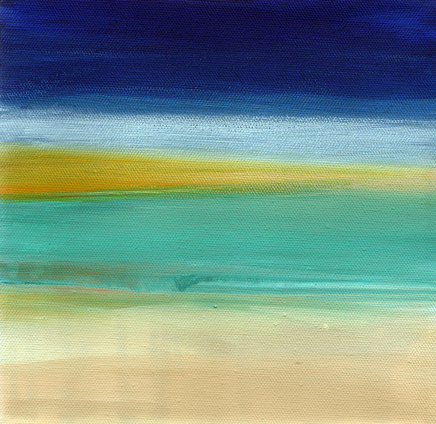 Ocean Blue 3- Art By Linda Woods Painting