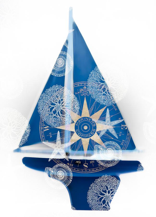 Frank Tschakert Painting - Ocean Blue by Frank Tschakert