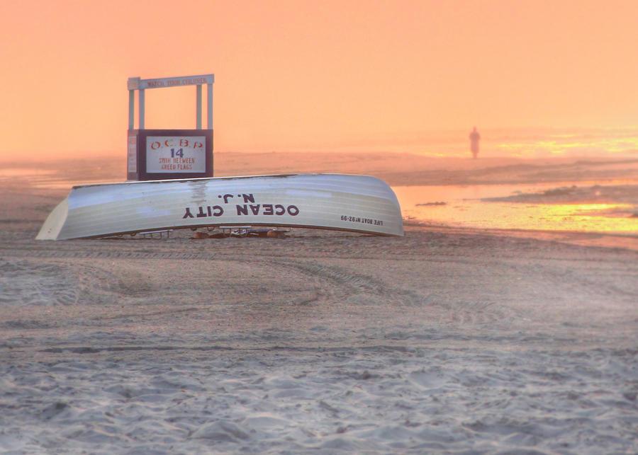 Beach Photograph - Ocean City Beach Patrol by Lori Deiter