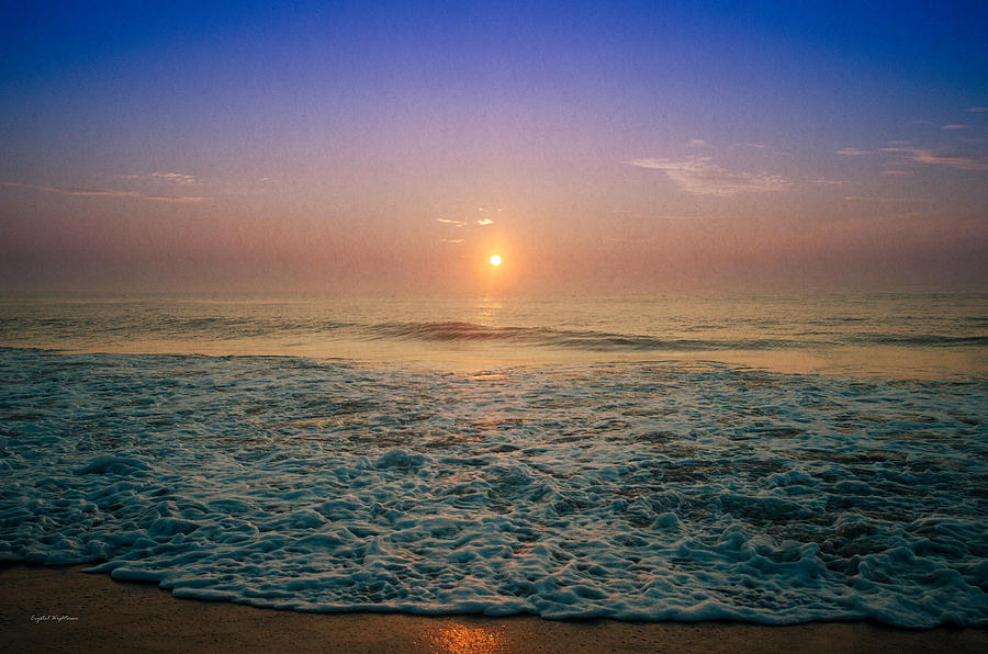 Ocean City Photograph - Ocean City Sunrise by Crystal Wightman