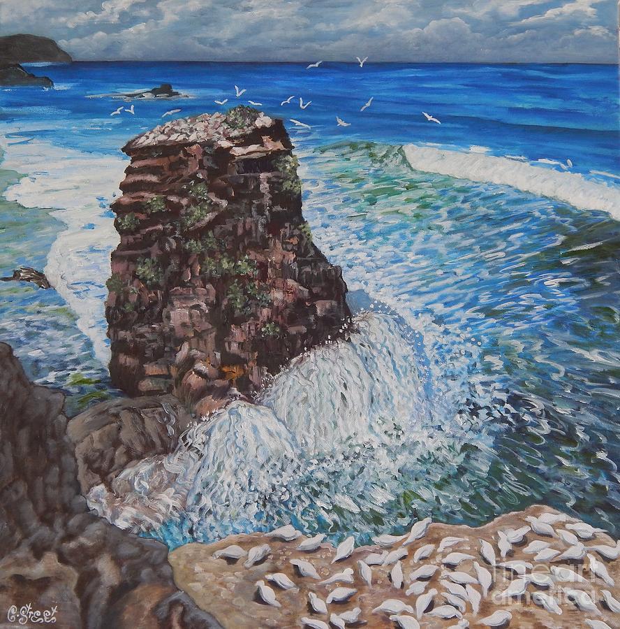 Seascape Painting - Ocean Dream by Caroline Street