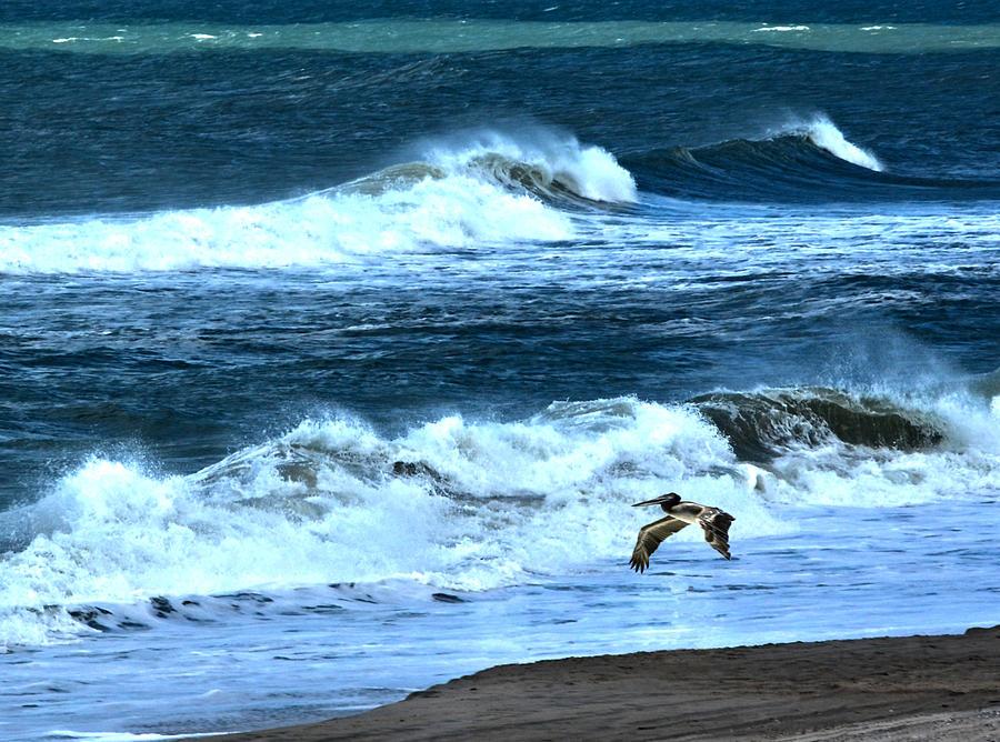 Ocean Photograph - Ocean During A Storm by Sandi OReilly