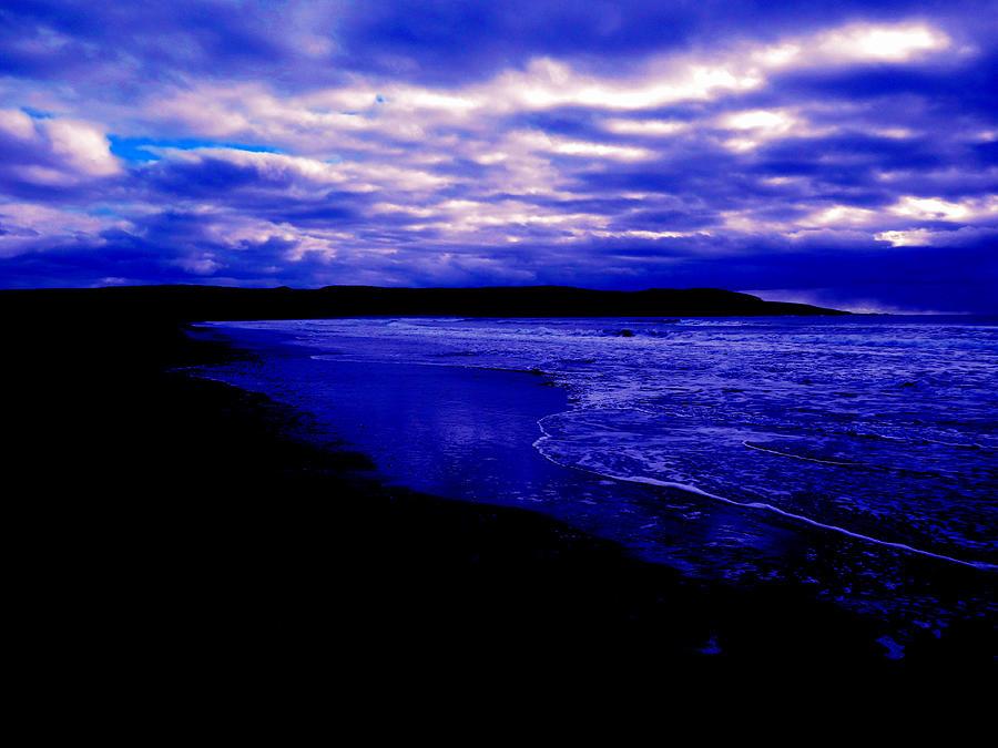 Ocean Photograph - Ocean Dusk by Zinvolle Art