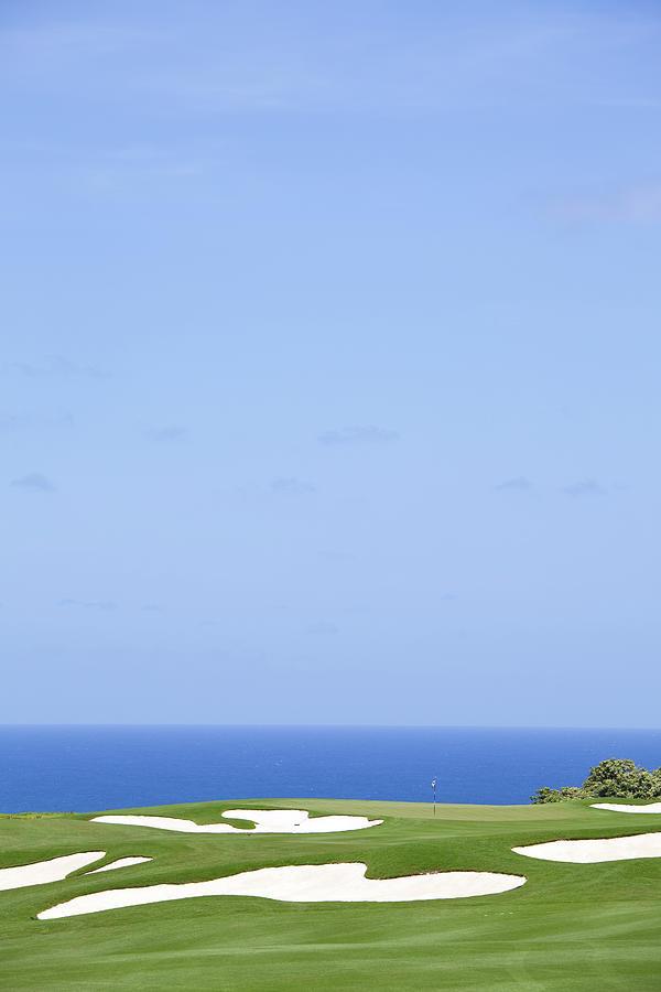 Ocean Golf Green Photograph by Imaginegolf