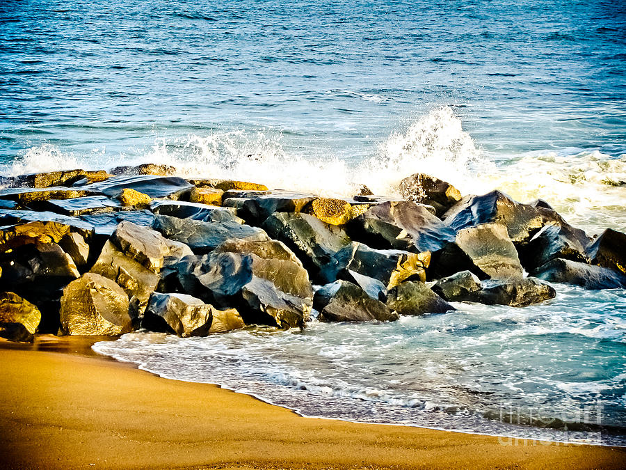 Ocean Photograph - Ocean Jetty by Colleen Kammerer
