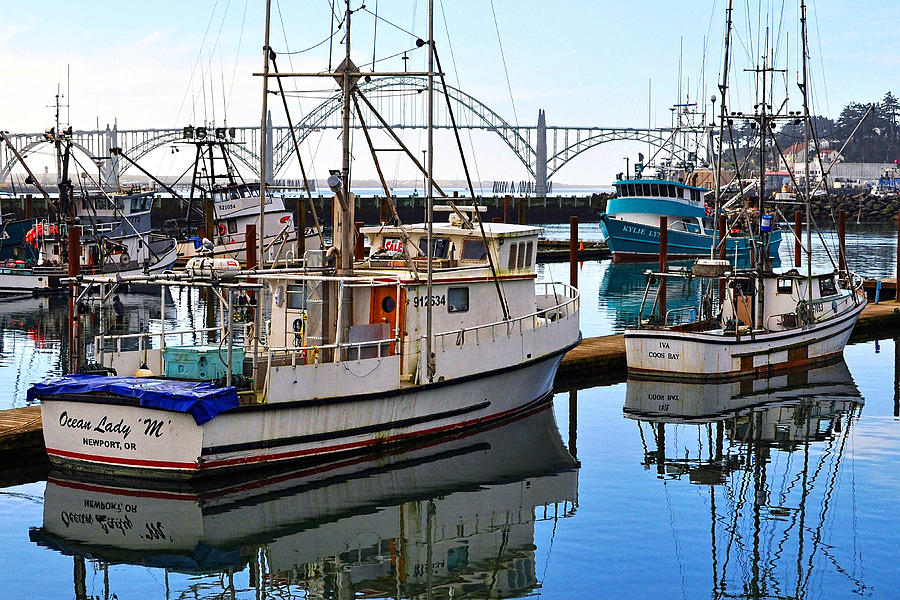 Fishing Boats Photograph - Ocean Lady M by Thomas J Rhodes