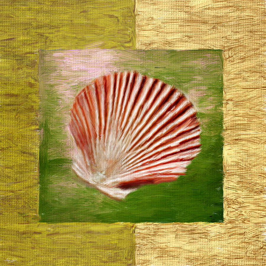 Green Digital Art - Ocean Life by Lourry Legarde