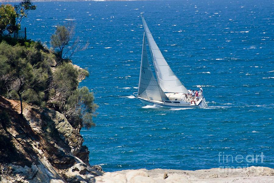 Australia Photograph - Ocean Racing II by Steven Ralser
