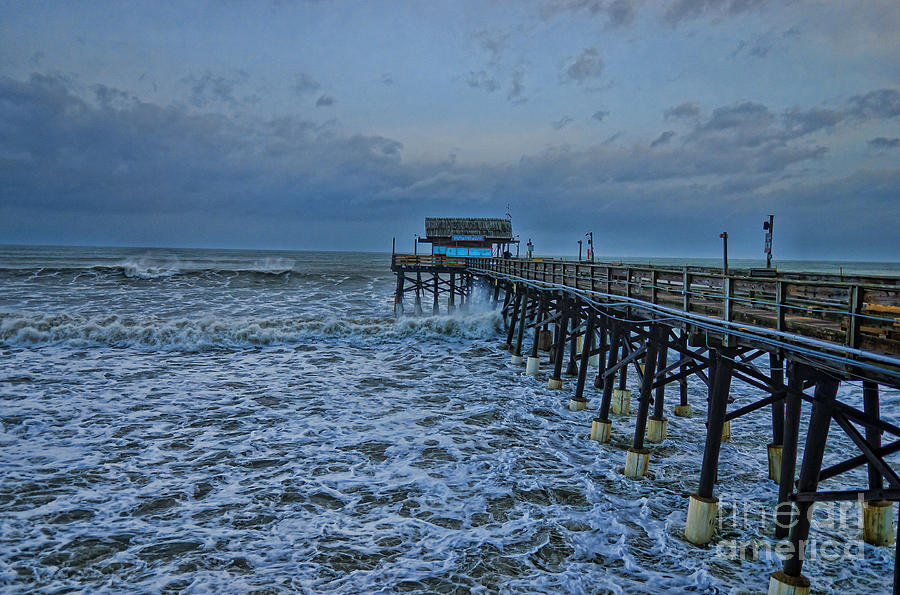 Ocean Rocks Pier Photograph By Steve Cole