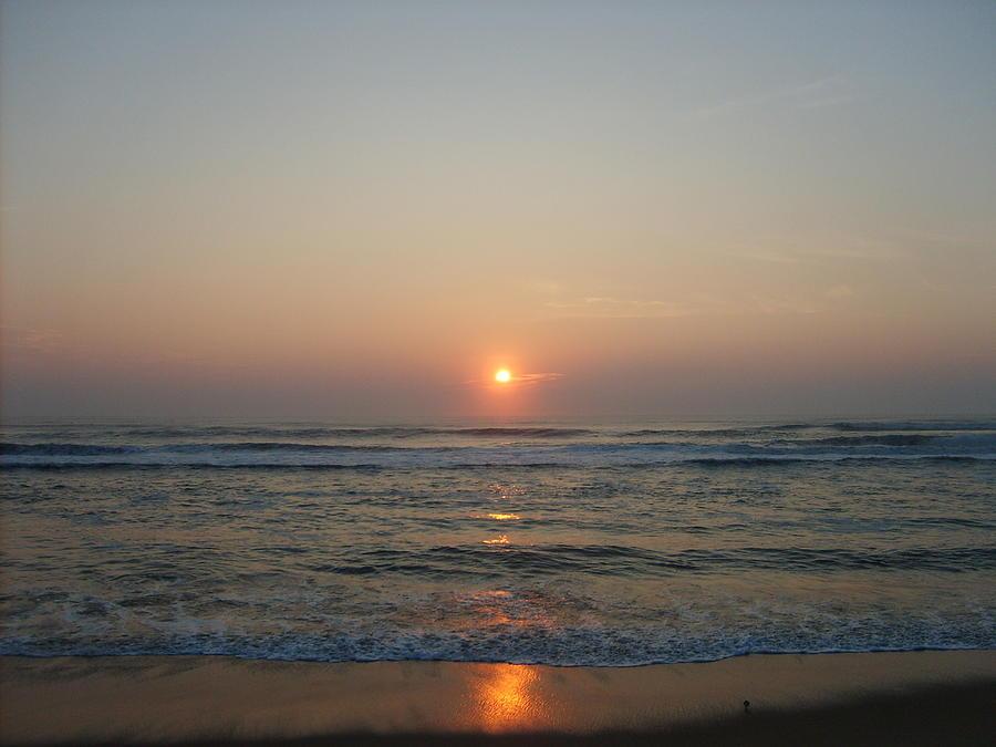 Ocean Photograph - Ocean Sunrise by Deborah May