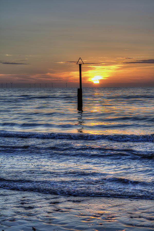 Sunset Photograph - Ocean Sunset by Ian Mitchell