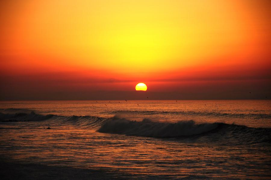 Morocco Photograph - Ocean Sunset by Manu G