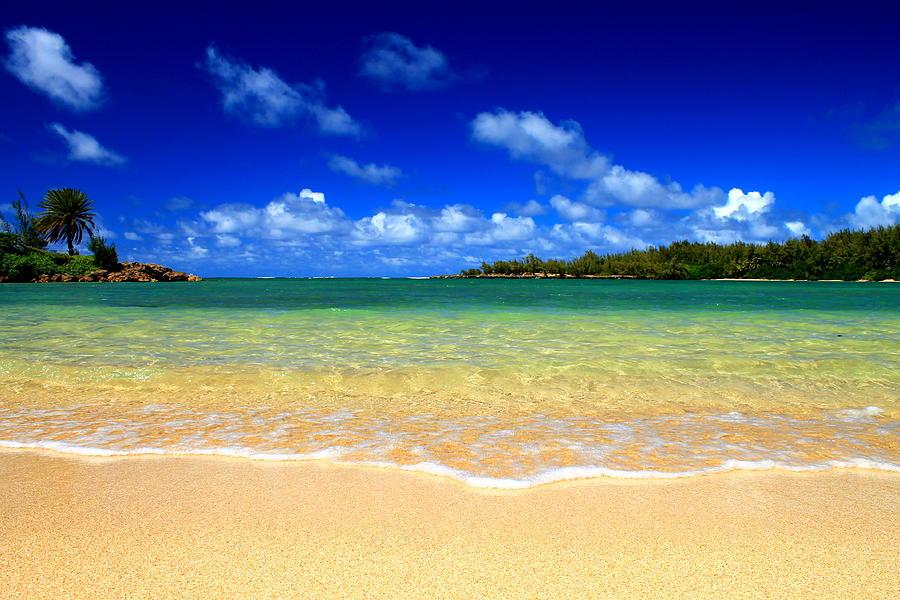Beach Photograph - Ocean Tranquil by Saya Studios