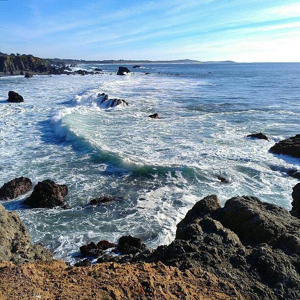 Portuguese Beach Photograph - Ocean Vista by CML Brown