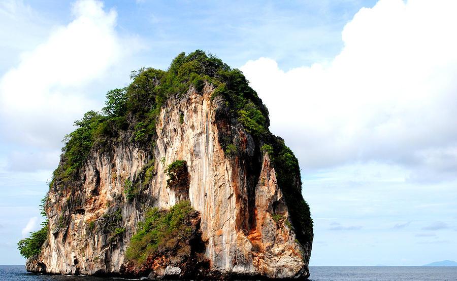 Ocean Photograph - Ocean Wall- Phi Phi Island - Krabi Thailand- Viators Agonism by Vijinder Singh