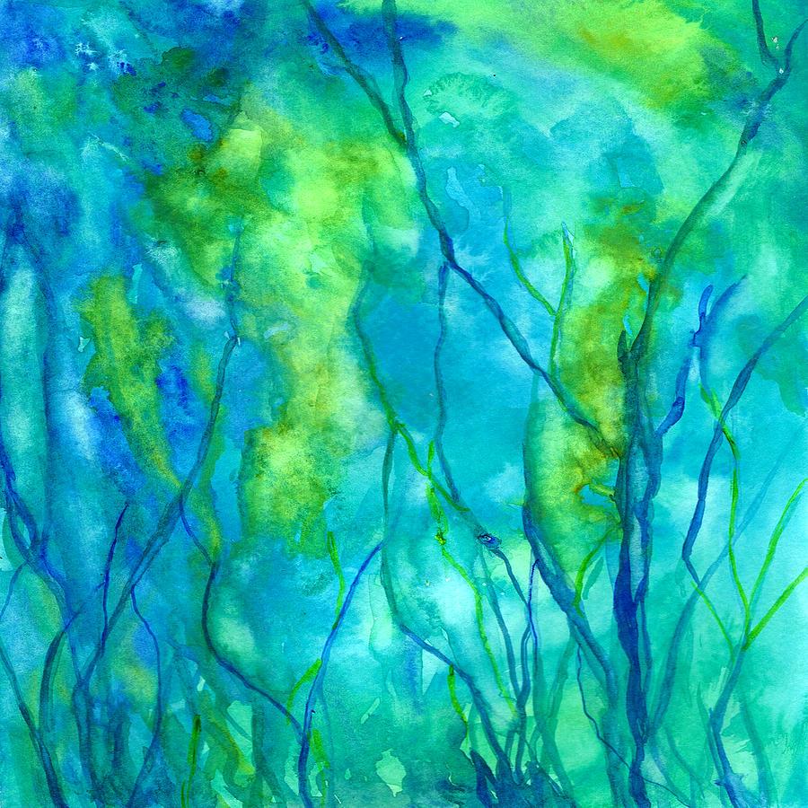 Painting Painting - Ocean Wonder by Rosie Brown