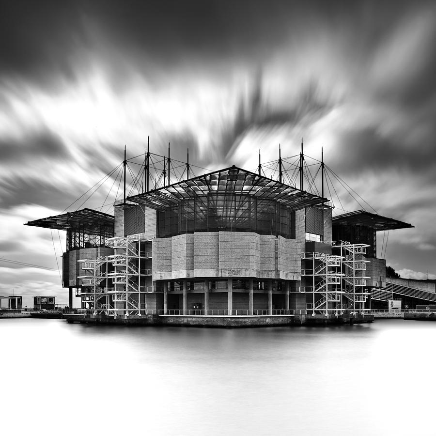 Lisbon Photograph - Oceanarium by Jorge Maia