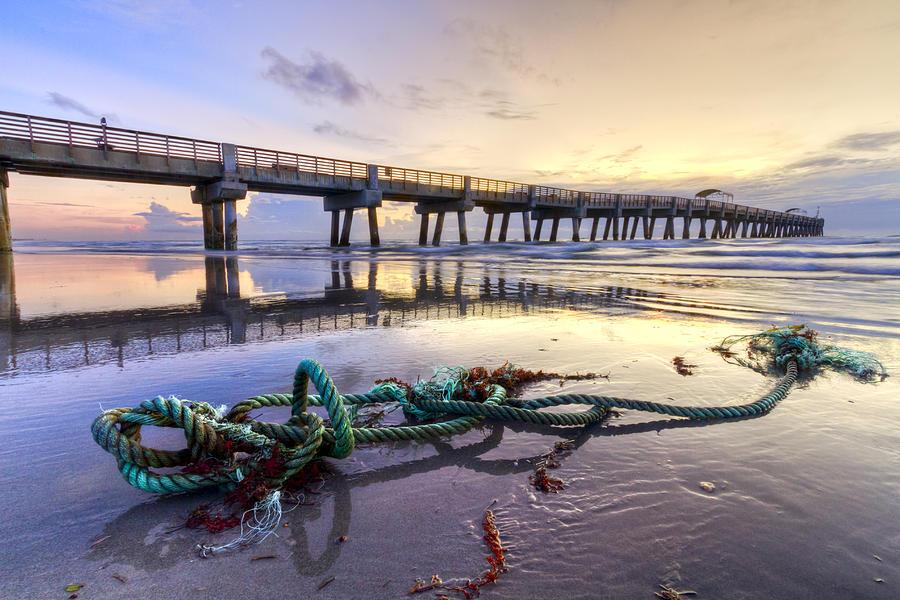 Florida Photograph - Oceans Gift by Debra and Dave Vanderlaan