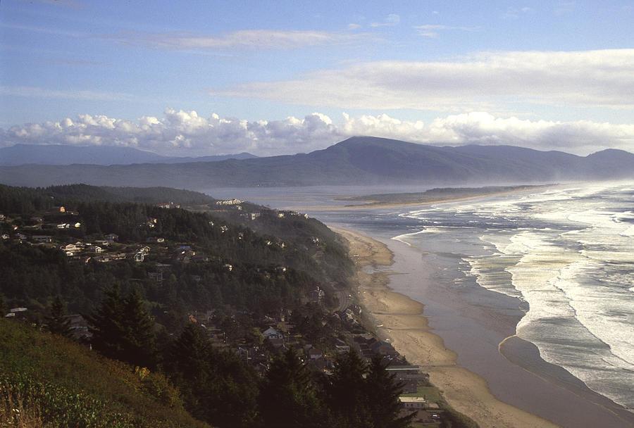 Shore Photograph - Oceanside Oregon by Keith Gondron