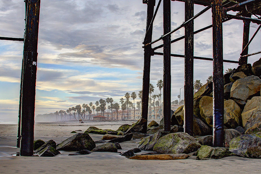 Oceanside Photograph - Oceanside Pier by Ann Patterson