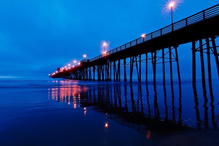 Pier Photograph - Oceanside Pier by Ben Graham