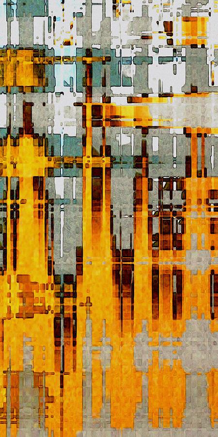 Ochre Urbanity by David Hansen