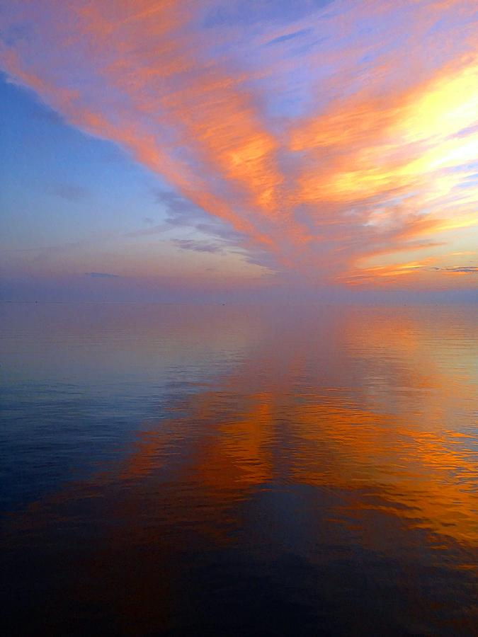 Ocracoke Nc Photograph - Ocracoke Nc Sunrise by Joan Meyland