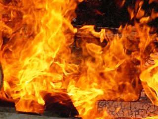 Fire Photograph - Oct 2013-13 by Bruce Kessler