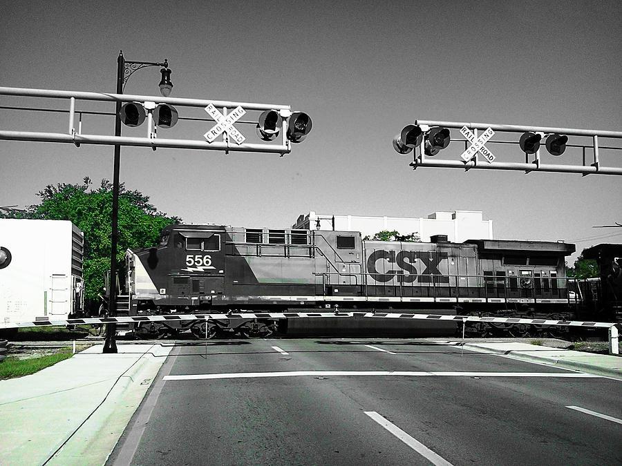 Train Csx Photograph - Oct 2013-15 by Bruce Kessler