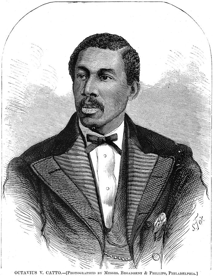 1871 Painting - Octavius Catto (1839-1871) by Granger
