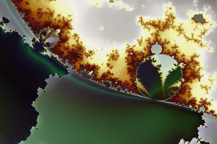 Octic Byways No. 1 Digital Art