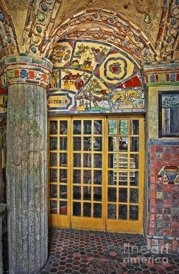 Byzantine Photograph - October At Fonthill Castle by Susan Candelario
