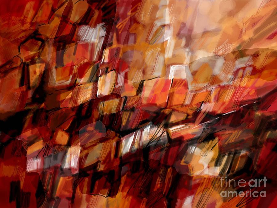 Abstract Digital Art - October by Igor Schortz