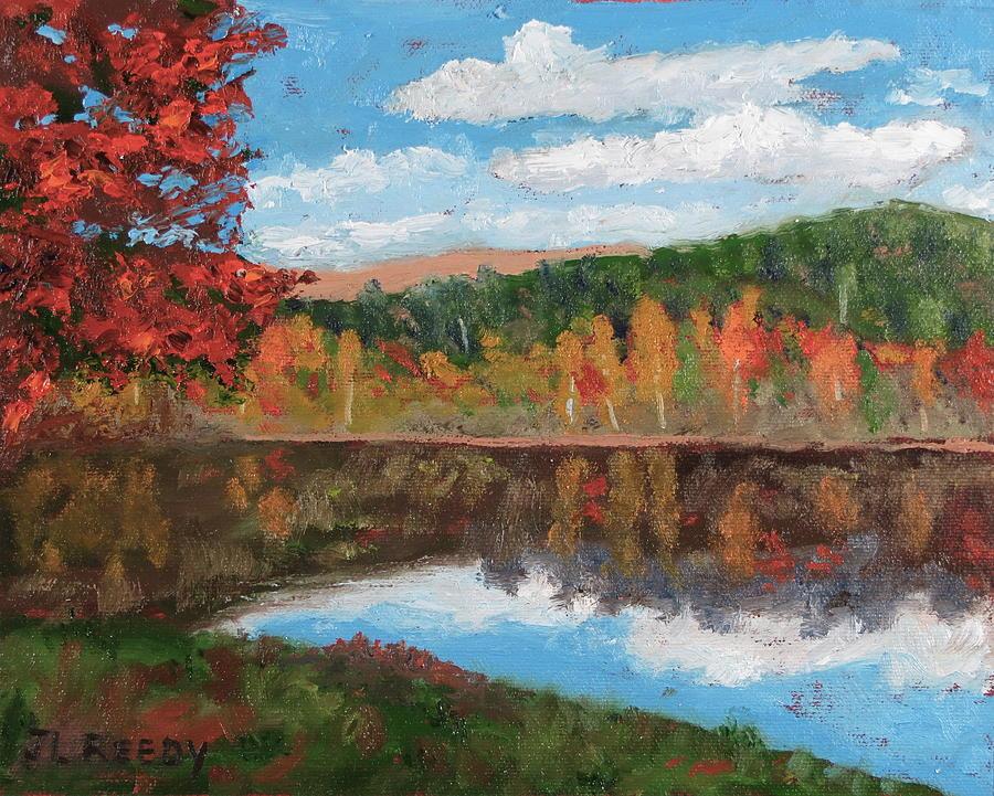 October Sky by J Loren Reedy