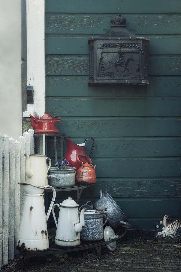Pot Photograph - Odds And Ends by Joana Kruse