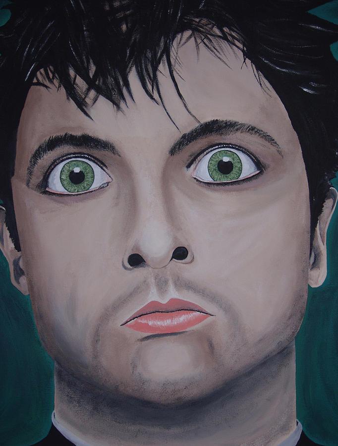 Rock Star Painting - Ode To Billie Joe by Dean Stephens