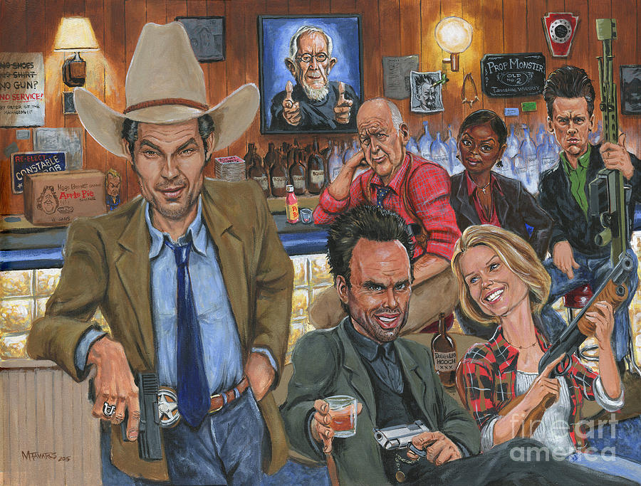 Ode to Justified by Mark Tavares