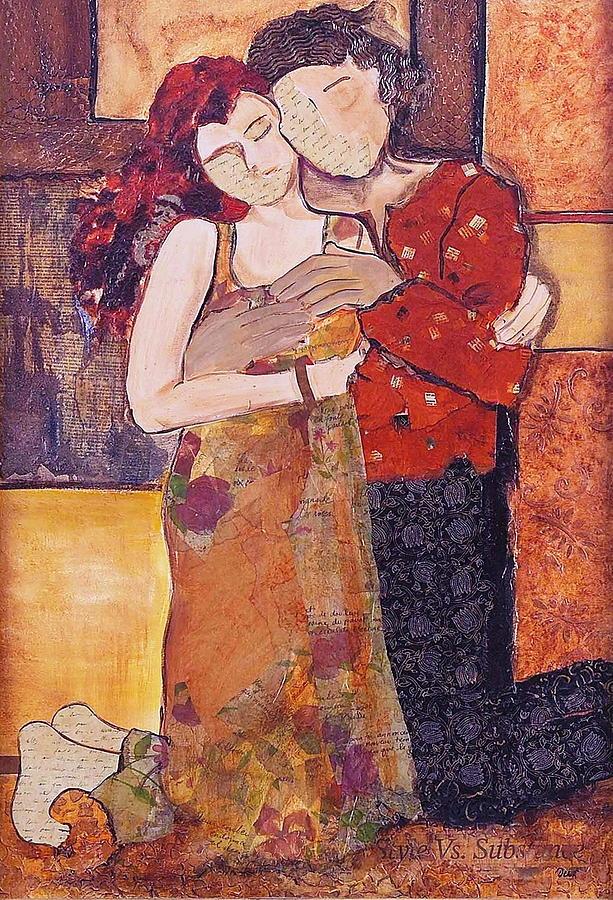 Man Painting - Ode To Klimt by Debi Starr