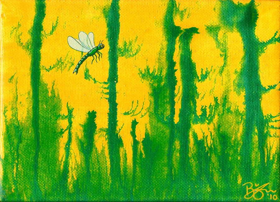 Dragonfly Painting - Odonata by Lance Bifoss