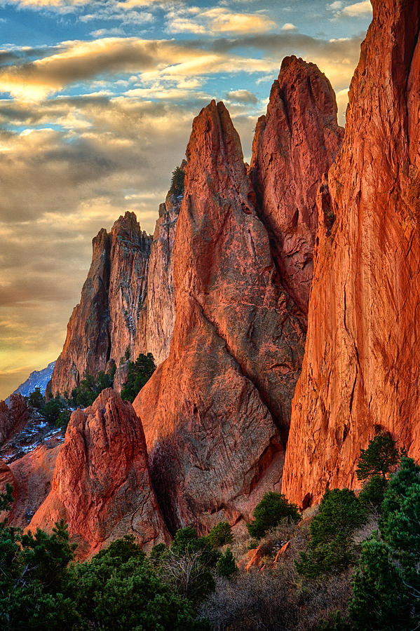 Garden of the Gods II by Steve White