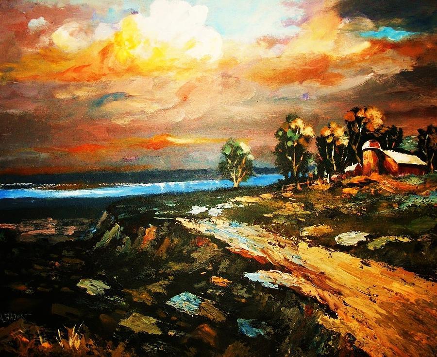 Off Shore Hideaway by Al Brown