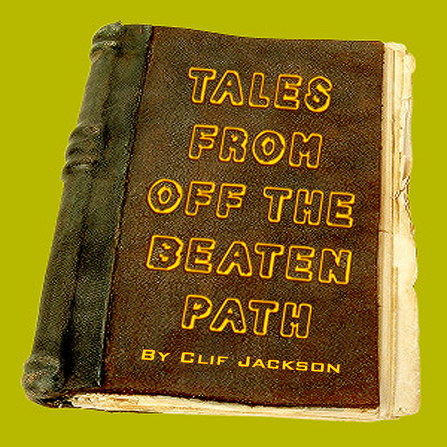Books Digital Art - Off The Beaten Path by Clif Jackson