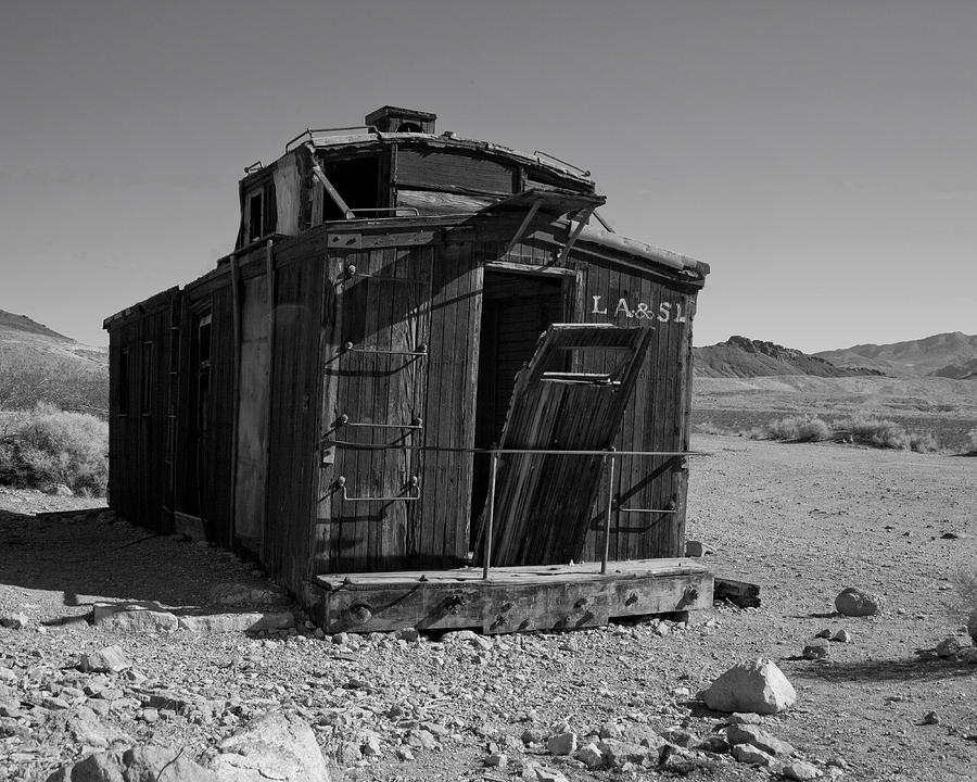 Desert Photograph - Off the Track by Neal Martin