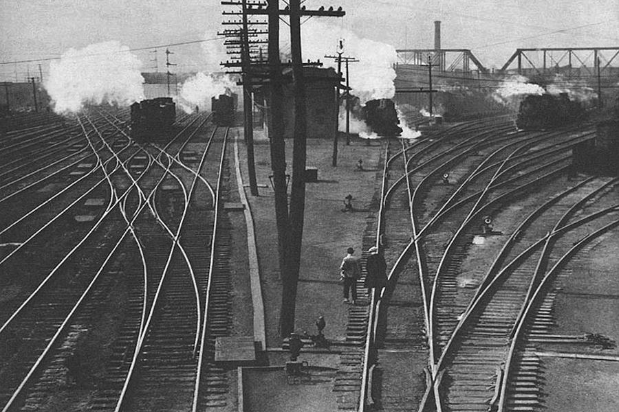 Train Photograph - Off To Work by J D Owen